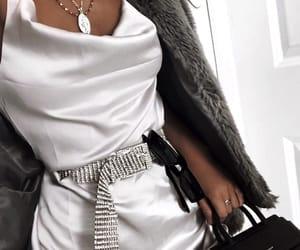 fashion, tumblr, and white dress image
