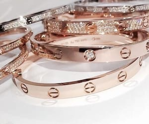 bracelet, luxury, and cartier image
