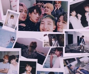 jin, polaroid, and rm image