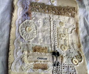 lace, shabby chic, and vintage image