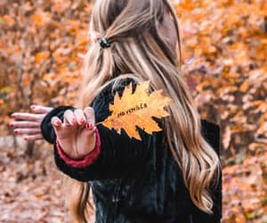 autumn, dancing, and fall image