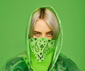 green, billie eilish, and eilish image