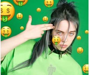 green, billie eilish, and aesthetic image