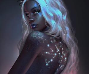 fantasy, morena, and estelar image