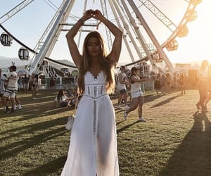 coachella, dress, and summer image