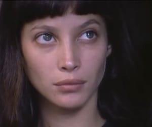 "Christy Turlington, model, and ""catwalk"" 1995 image"