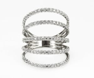 etsy, wedding ring, and anniversary ring image