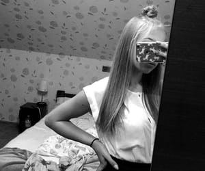 black&white, polishgirl, and teenager image