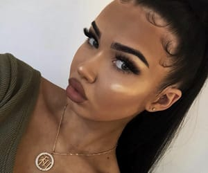 site models, gorgeous girls, and makeup goals image