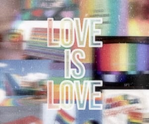 pride, love is love, and gay image