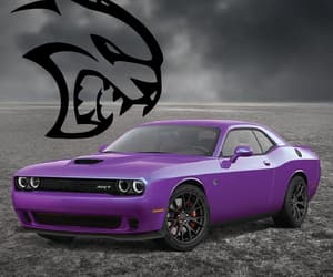 Challenger, car, and dodge image
