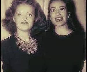 Bette Davis, joan crawford, and vintage image