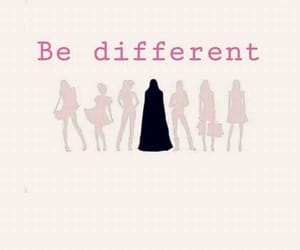 different, hijab, and islam image