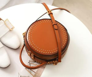 bags, circle, and fashion image