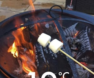 cold, fire, and food image
