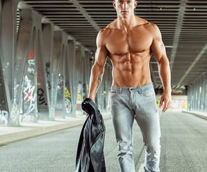 abs, beauty, and handsome image