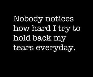 tears, sad, and quotes image