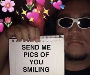 meme, love, and smile image