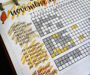 bullet, journal, and november image