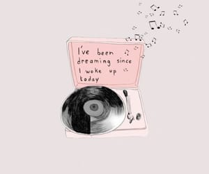 quotes, music, and pink image