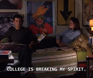 college, quotes, and gilmore girls image