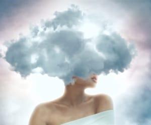 ariana, ariana grande, and cloud image
