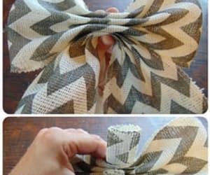 bow, diy, and handmade image