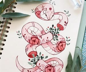 colour, drawing, and snake image