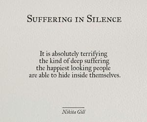 silence and quote image