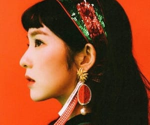 aesthetic, kpop, and orange image
