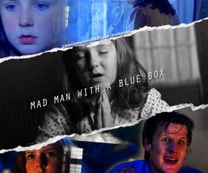 doctor who, matt smith, and amy pond image