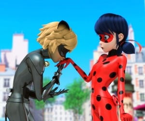 Chat Noir, miraculous, and heroes image