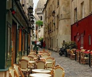 paris, travel, and cafe image
