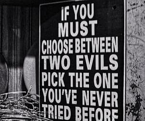 choices, decisions, and evil image