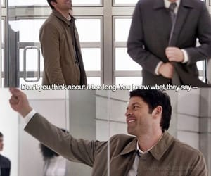 heaven, lucifer, and cas image