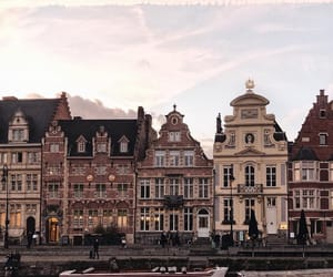 architecture, belgium, and building image