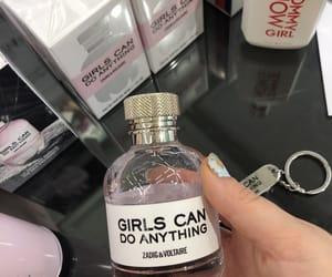 feminism, girl, and perfume image