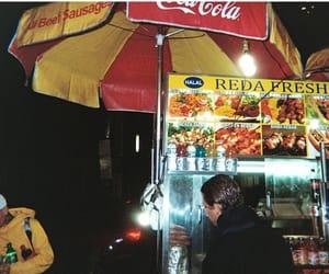 coca-cola, new york, and food stand image