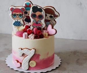 art, birthday, and cupcakes image