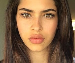 lips, makeup, and eyebrows image