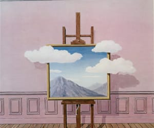 art, clouds, and painting image