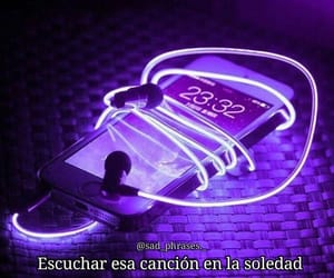 cancion, frases, and neon image