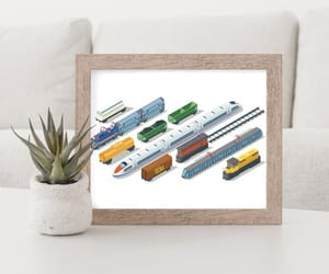 etsy, poster print, and travel poster image