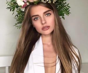 brunette, girl, and selfie image