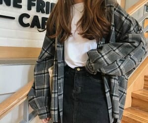 clothes, flannel, and clothing image