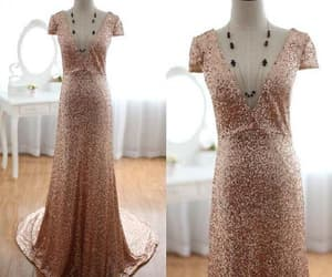 long evening dresses, v neck prom dresses, and prom dresses for cheap image