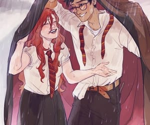 art, harry potter, and ginny weasley image
