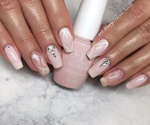 bday, nails, and pink image