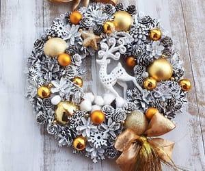 christmas, decoration, and goal image