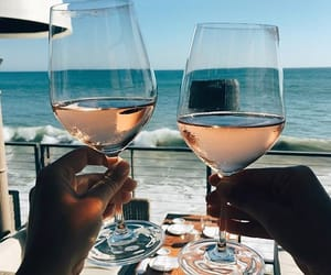wine, drink, and summer image